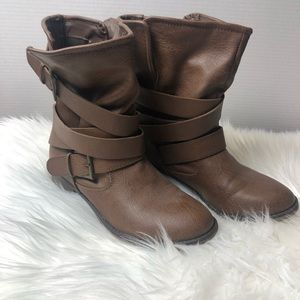 Mossimo | Slouchy brown boots